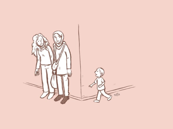 Mütter haben überall dieselben Tricks