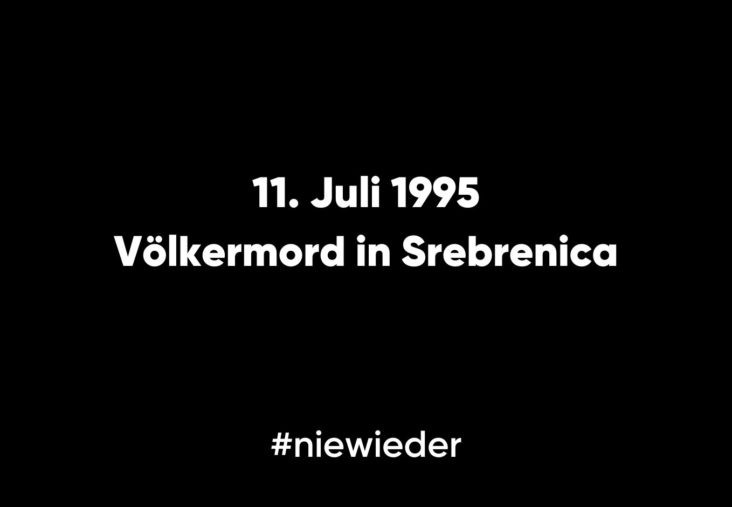 Nie wieder Srebrenica
